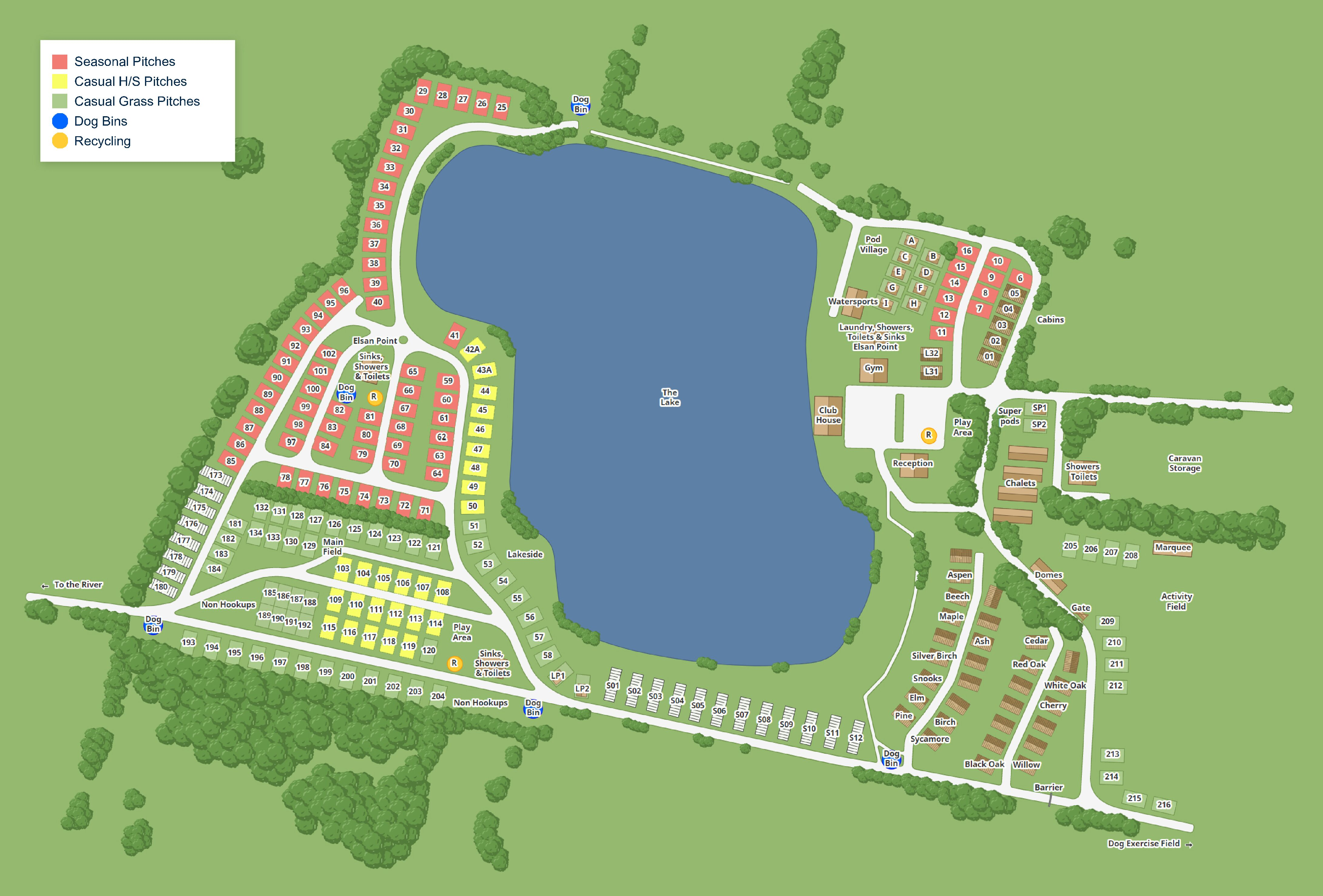 Site Map 2021